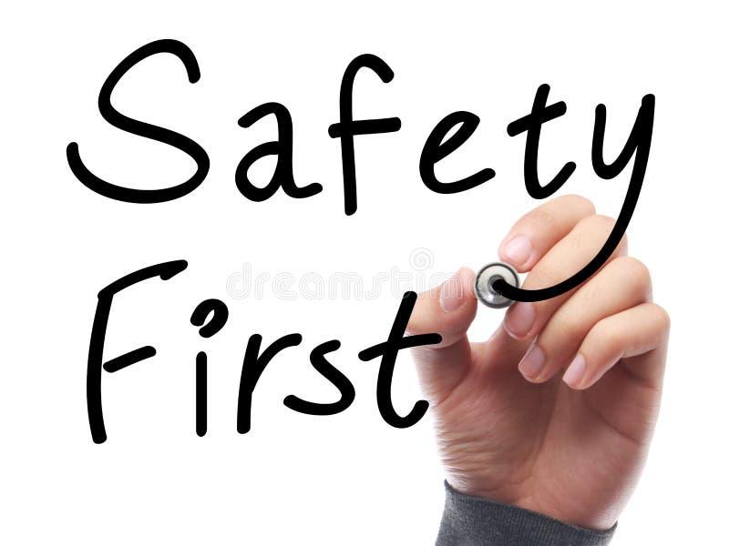 первая безопасность стоковые изображения