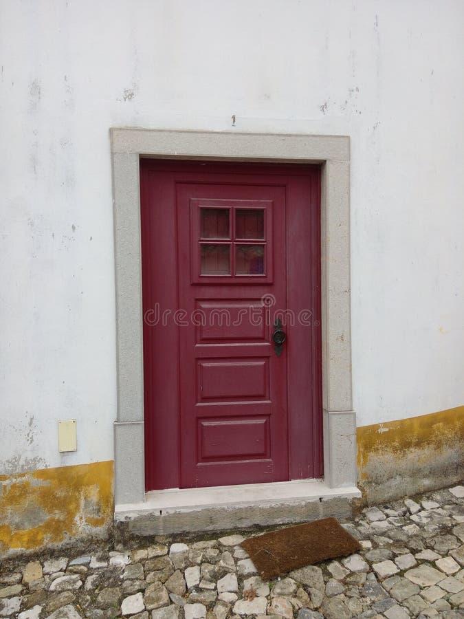 Первая дверь стоковая фотография