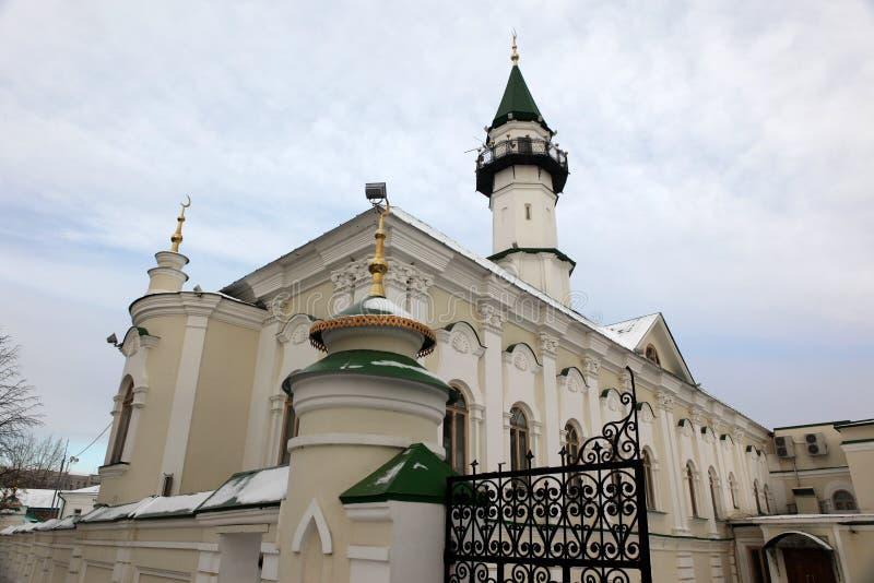 Первая мечеть собора в Казани, построенной в 1766-1770 Cathe стоковая фотография