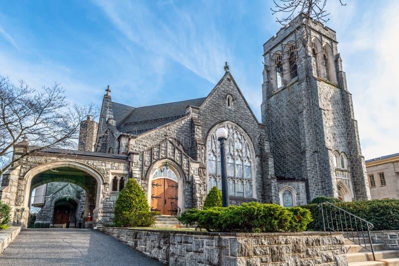 Первая пресвитерианская церковь стоковые фотографии rf