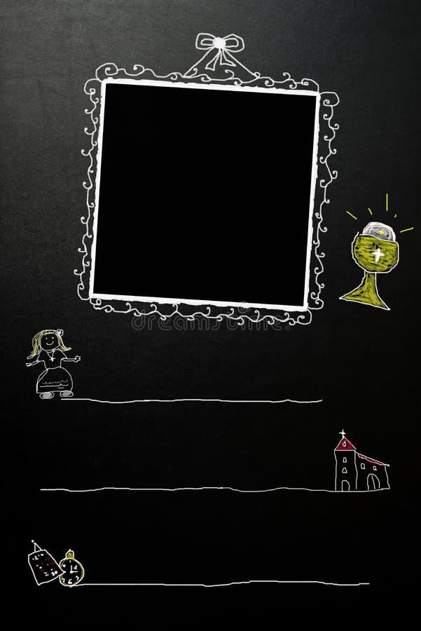 Первое приглашение девушки общности бесплатная иллюстрация