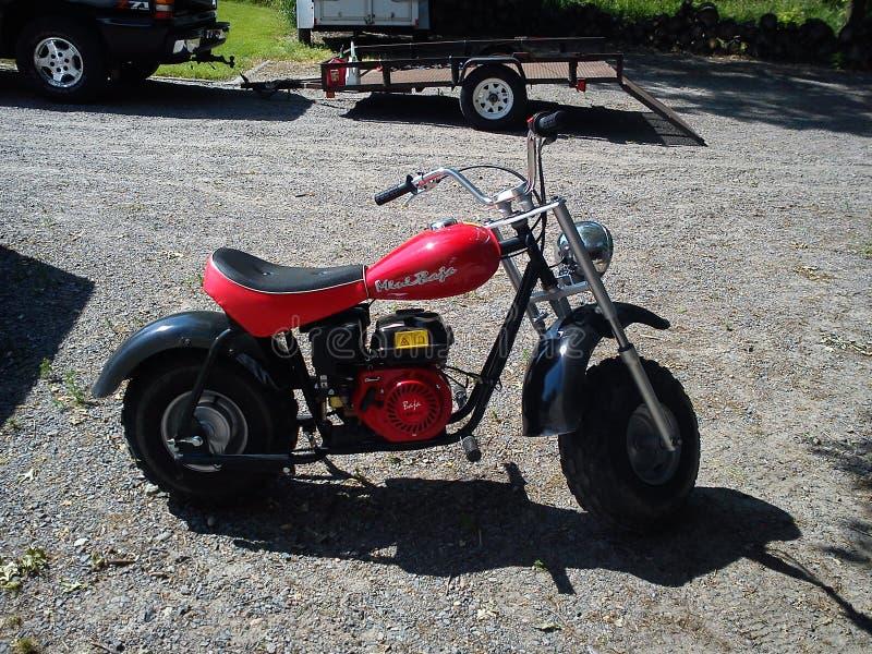 первоначальное minibike стоковое фото