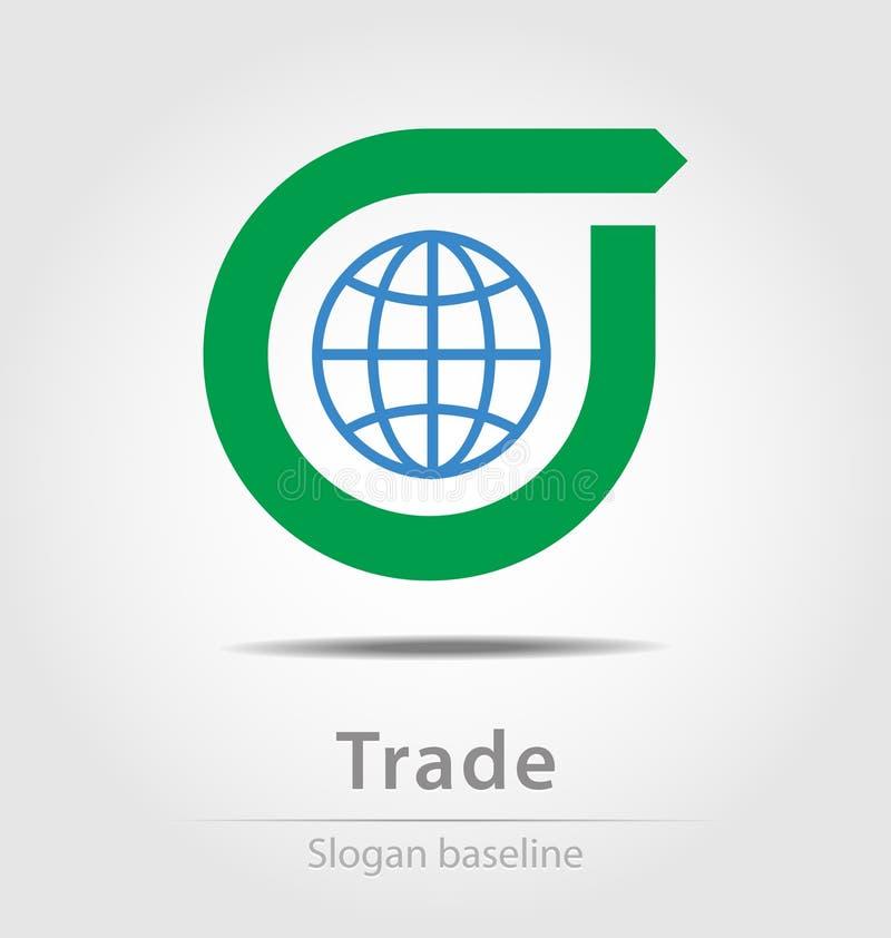 Первоначально созданный торговый значок дела вектора бесплатная иллюстрация