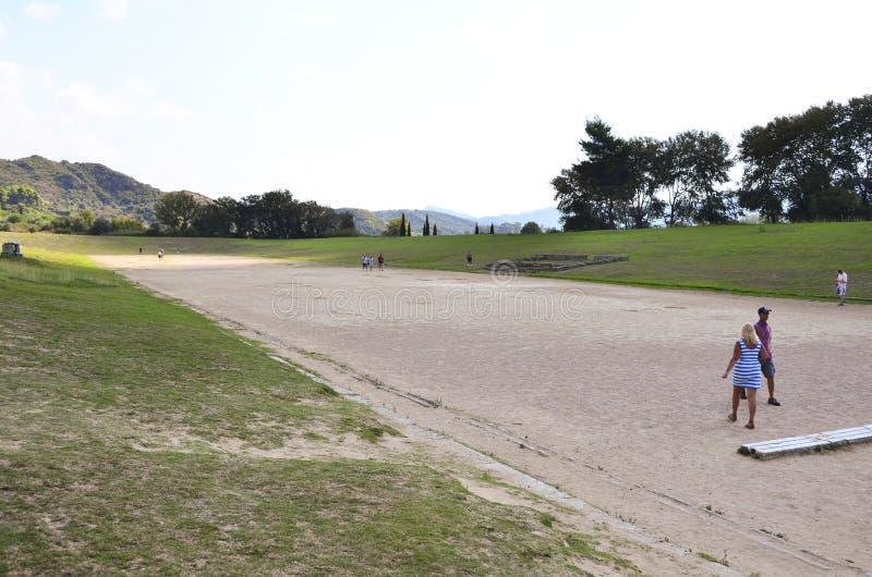 Первоначально Olympic Stadium стоковое изображение rf