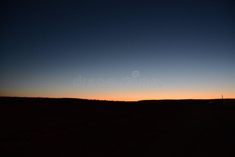 Первые света стоковая фотография rf
