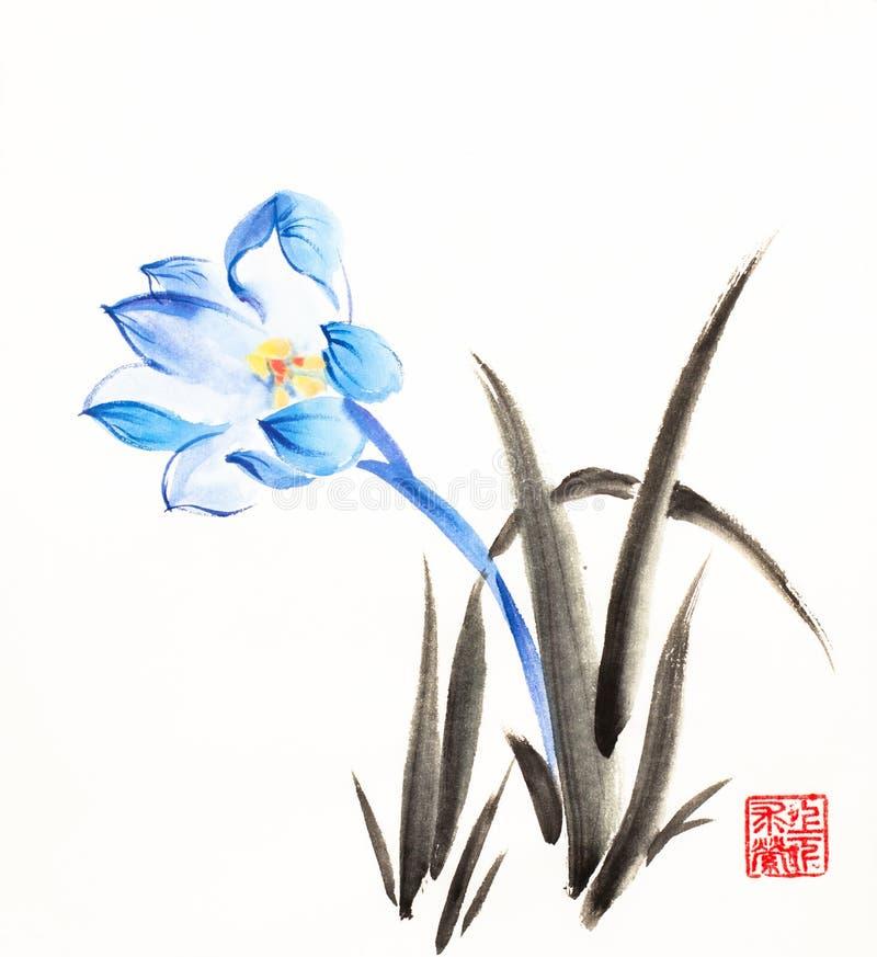 Первые snowdrops весны иллюстрация штока