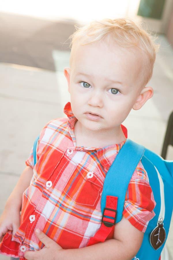 Первый день Preschool стоковые изображения