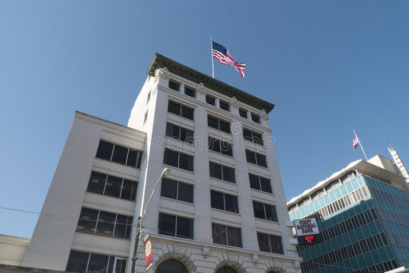 Первый национальный банк, Fort Smith, AR стоковая фотография rf