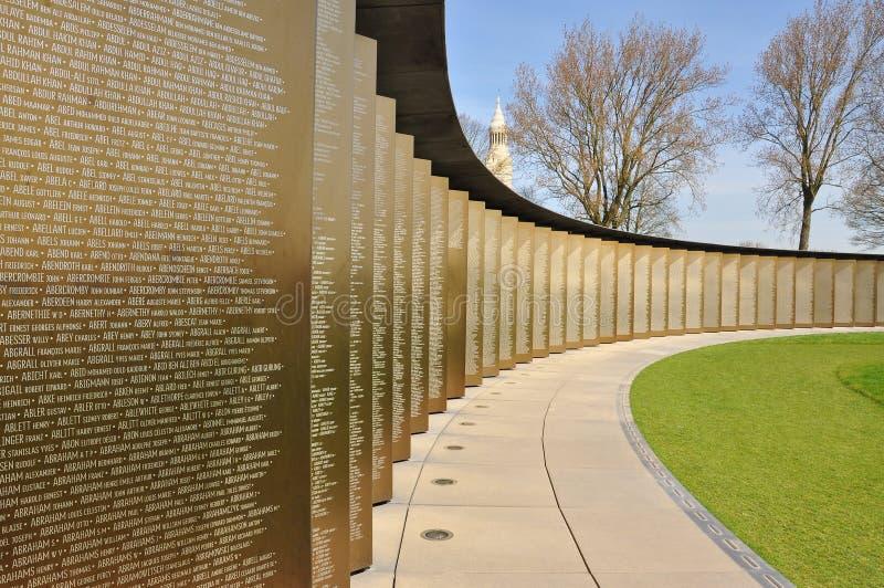 Первый памятник мировой войны, северная Франция стоковая фотография rf