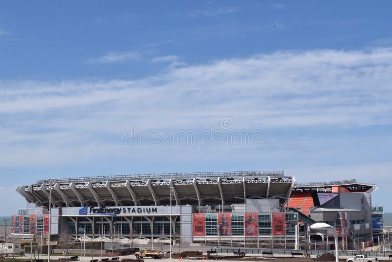 Первый стадион энергии стоковые изображения rf