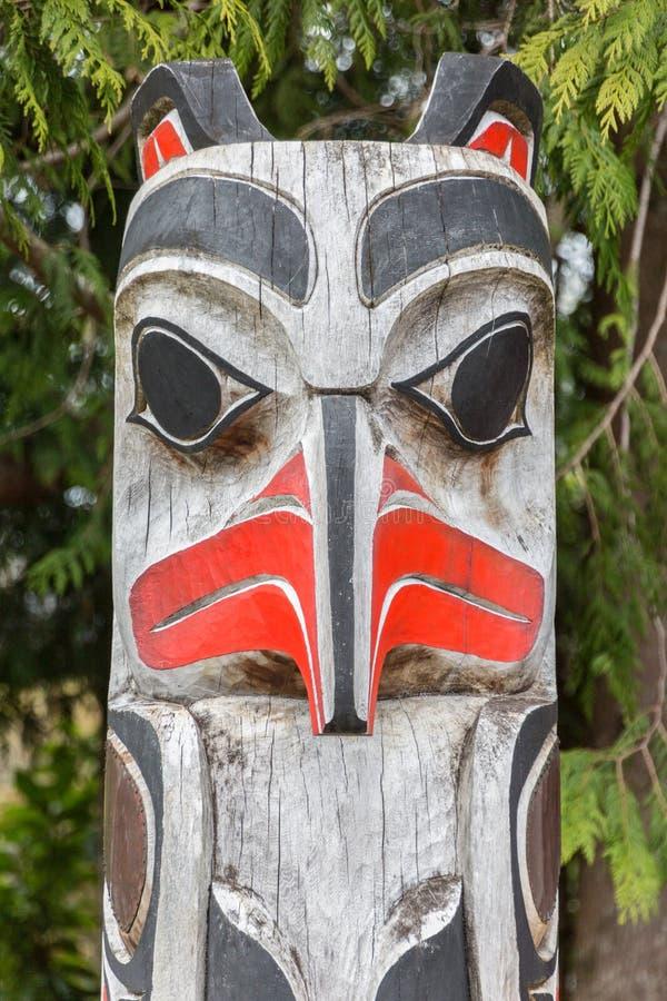 первый totem полюса наций стоковые изображения rf