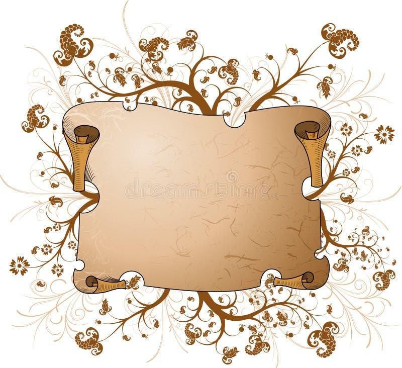 пергамент бесплатная иллюстрация