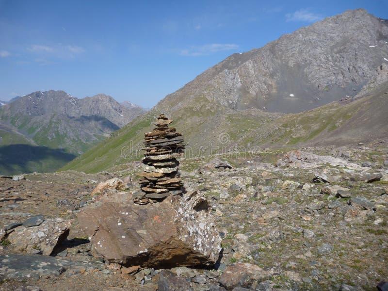 Перевал с stoneman стоковое изображение rf