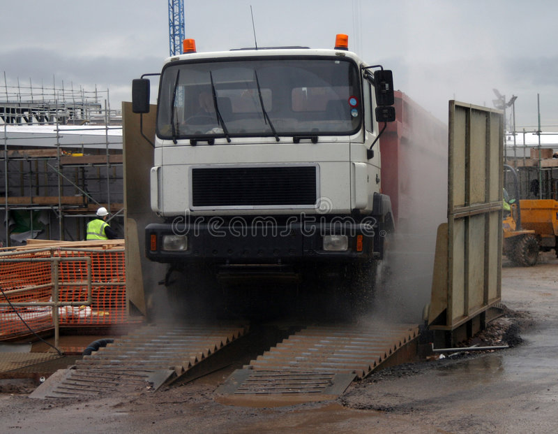 перевезите мытье на грузовиках стоковые фото