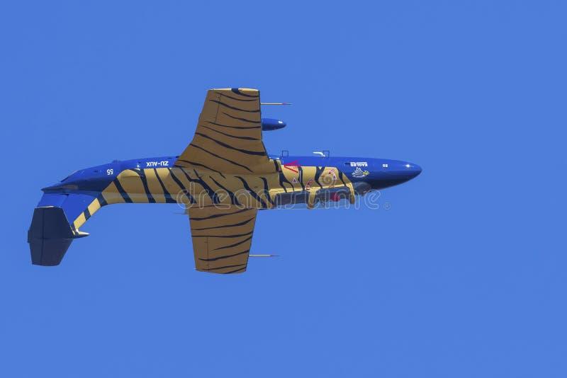 Перевернутое L-29 Delphin стоковое фото