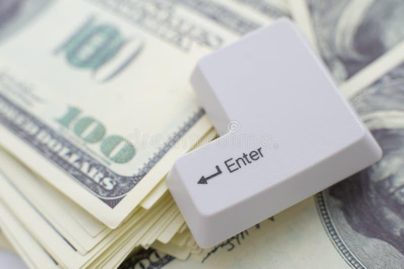 перевод денег принципиальной схемы стоковое изображение