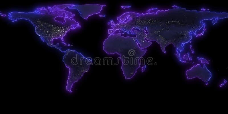 перевод 3D контура земли планеты Вы можете увидеть континенты Элементы этого изображения поставленные NASA бесплатная иллюстрация