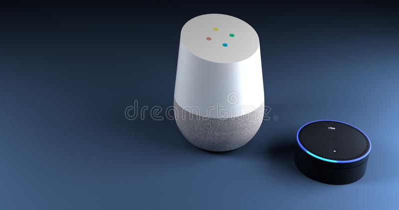 перевод 3d системы распознавания голоса иллюстрация вектора