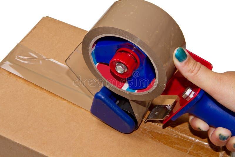 перевозка груза коробки стоковые фото