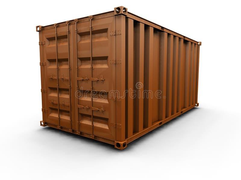 перевозка контейнера бесплатная иллюстрация