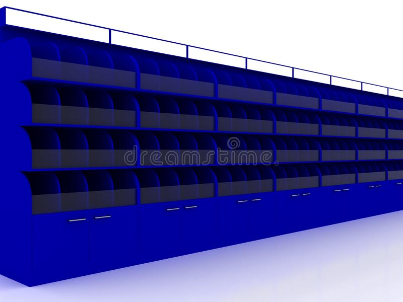 Перевод витрины 3D стоковые фото