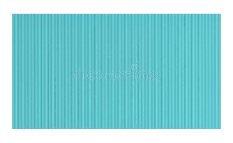перевод 3d света - голубой резиновой циновки йоги для тренировки изолированной на белой предпосылке иллюстрация штока