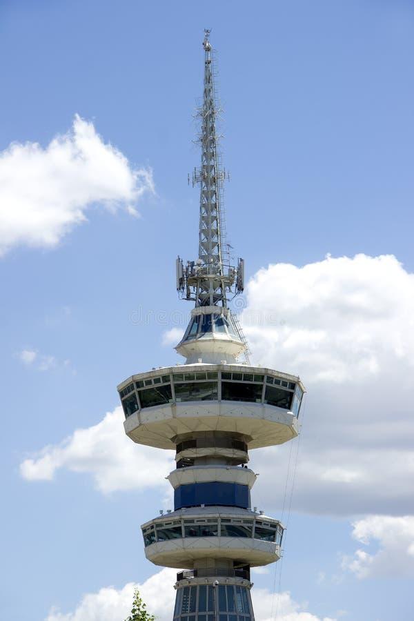 Передавая башня в Thessaloniki стоковое изображение