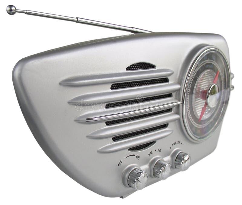 передайте ретро по радио стоковая фотография rf
