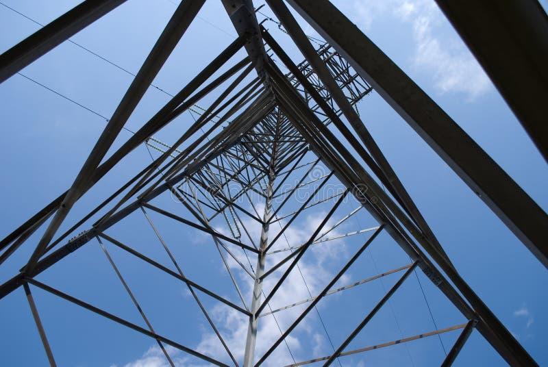 передача башни силы стоковое изображение