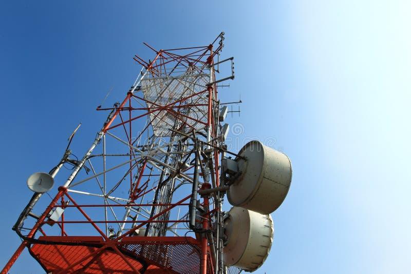 передача башни стоковое изображение