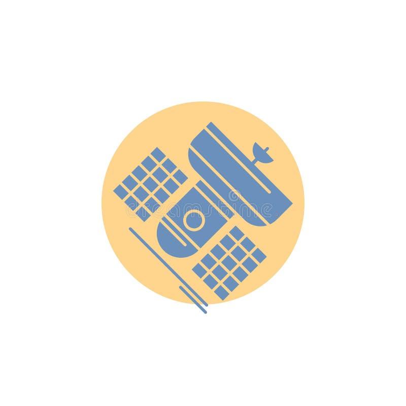 Передача, широковещание, сообщение, спутник, значок глифа радиосвязи бесплатная иллюстрация