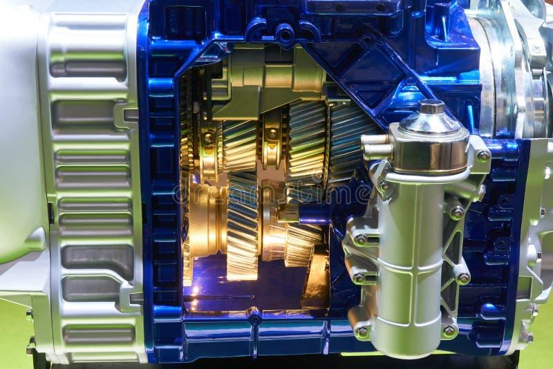 Передача Cutaway тележки стоковые изображения rf