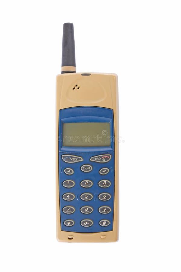 передвижной старый телефон стоковое изображение rf