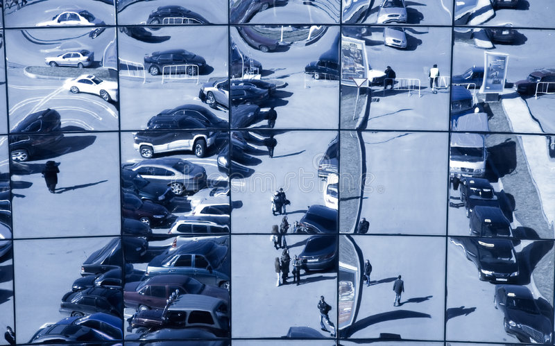 передергивать отражение стоковые изображения