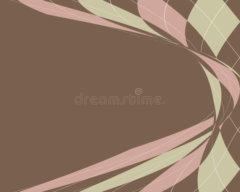 передернутая граница argyle иллюстрация вектора