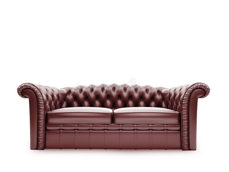 передней взгляд изолированный мебелью королевский иллюстрация штока