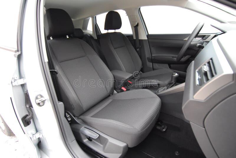 Передние сиденья для автомобилей стоковое фото