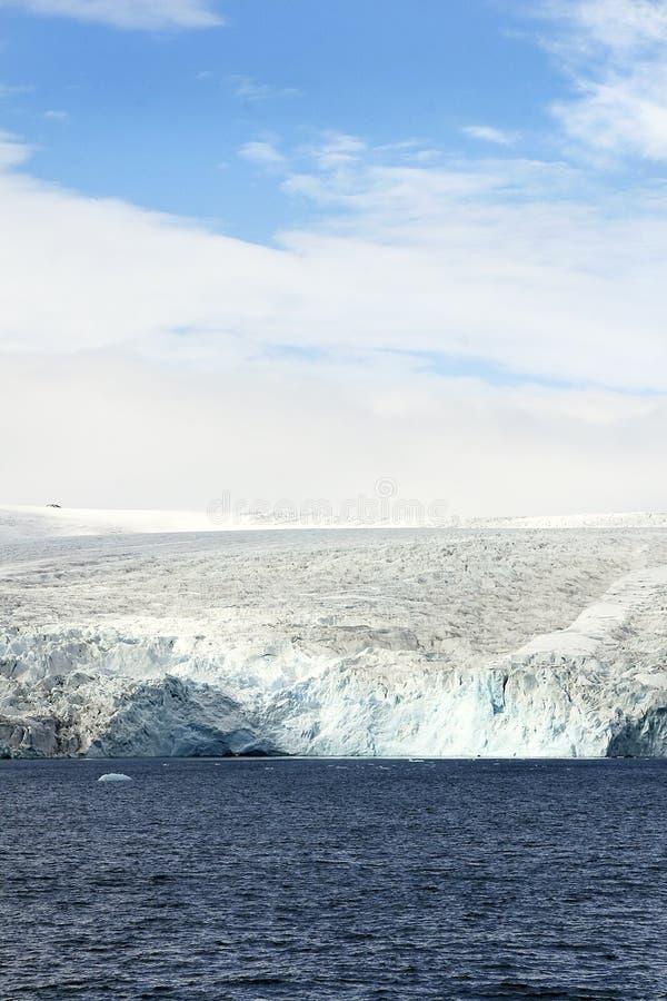 передний ледник стоковые изображения