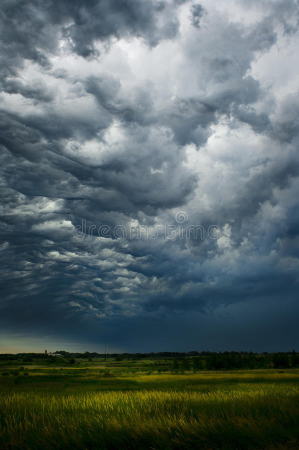 передний шторм стоковая фотография