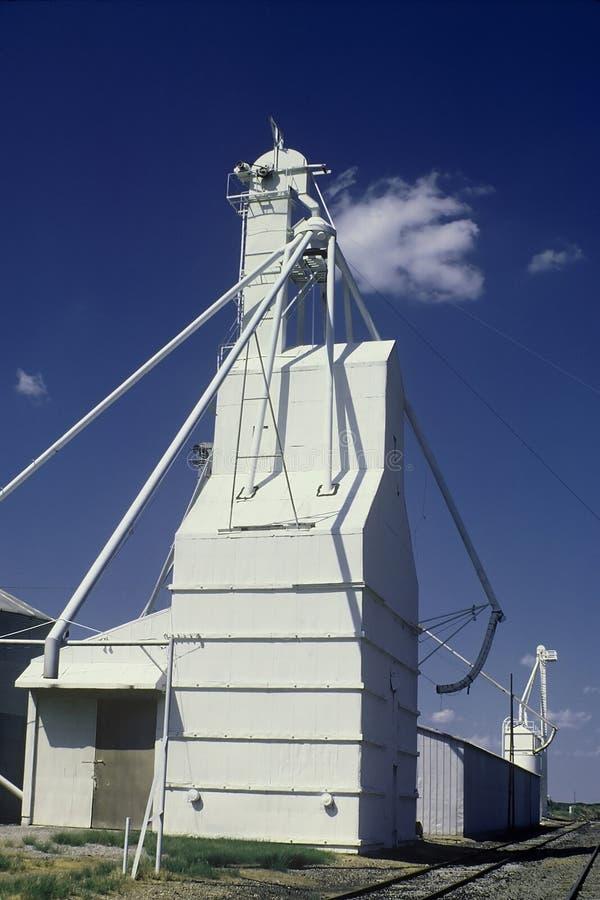 передним силосохранилище освещенное зерном Стоковое Изображение RF