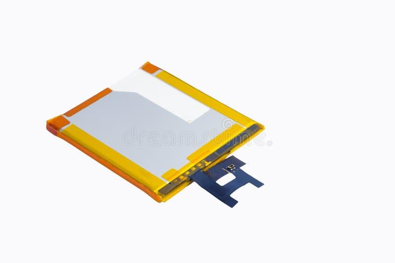 Перезаряжаемые батарея сотового телефона r стоковые изображения rf
