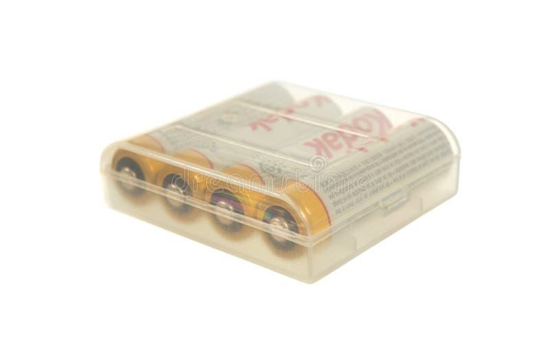 Перезаряжаемые батарея стоковое фото rf