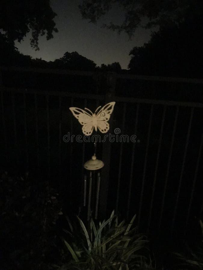 Перезвон ветра бабочки стоковые фото