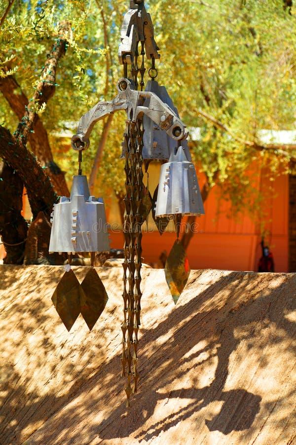 Перезвон ветра стоковая фотография rf