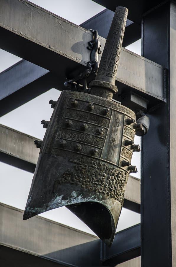 Перезвон колоколы, Пекин стоковое изображение