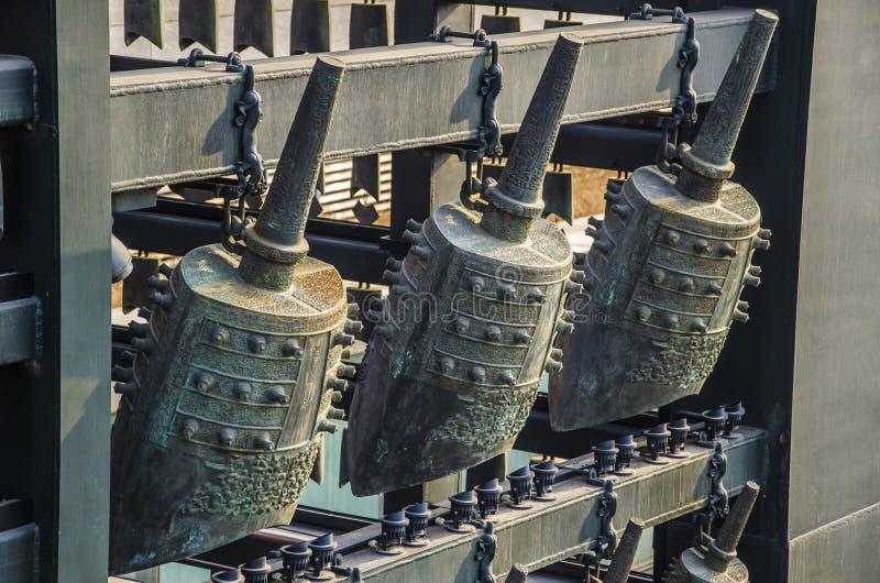 Перезвон колоколы, Пекин стоковые изображения