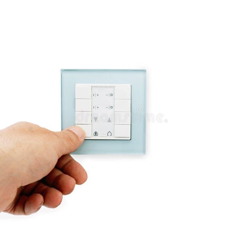 переключатель панели кнопок стоковые изображения rf