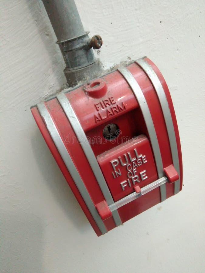 Переключите пожарную сигнализацию стоковые изображения