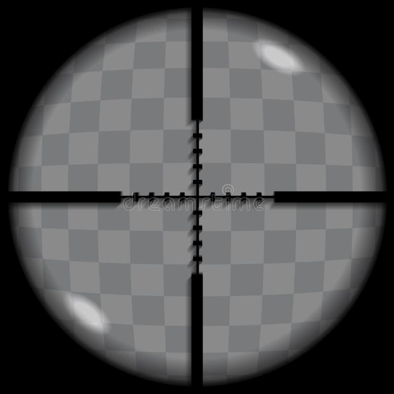 Перекрестие иллюстрация вектора