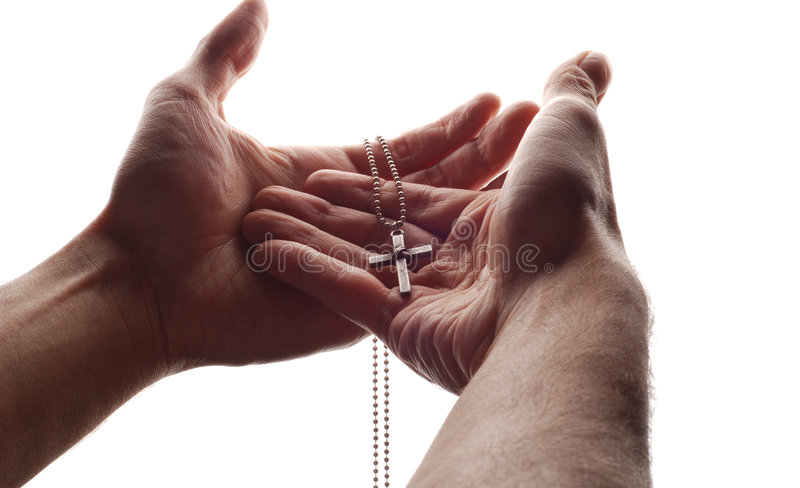 перекрестная рука стоковая фотография rf